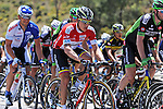 Mountains Jersey leader Juan Pablo Valencia (COL) Team Colombia in action during Stage 4 of the 2015 Presidential Tour of Turkey running 132km from Fethiye to Marmaris. 29th April 2015.<br /> Photo: Tour of Turkey/Mario Stiehl/www.newsfile.ie