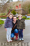 Grace McCarthy took Saffron and Henry for a walk in Killarney National Park on Friday
