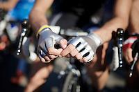Jasper Stuyvens (BEL/Trek Factory Racing) chrome gloves<br /> <br /> stage 2<br /> Euro Metropole Tour 2014 (former Franco-Belge)