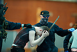 Attackers rounds up passengers as hostages passengers during a bilateral training exercise between An Garda Siochana and the Defence Forces hosted at Shannon Airport. Photograph by John Kelly.