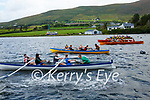 Action from the start of the U14 mixed race at the Sive Regatta in Cahersiveen on Saturday.