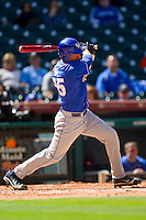 Michael Williams #35 of the Kentucky Wildcats follows through on his swing against the Utah Utes at Minute Maid Park on March 6, 2011 in Houston, Texas.  Photo by Brian Westerholt / Four Seam Images