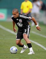 DC United midfielder Fred (7).   DC United tied Real Salt Lake 0-0 at  RFK Stadium, Saturday May 23, 2009.