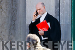 Michael O'Shea BL at Tralee Court on Wednesday.