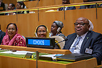 General Assembly Seventy-fourth session, 7th plenary meeting<br /> <br /> <br /> His Excellency Azali Assoumani, President, Union of the Comoros