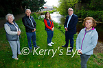 Members of the Castleisland Tidy Towns at the Castleisland River walk on Saturday and they want Kerry County Council to take over the maintenance of the walk in Castleisland. Front right: Mary Walsh. Back l to r: Sheila Hannon, John Keane, Doireann Killington and Cllr Bobby O'Connell.