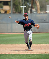 Tyler Freeman - Cleveland Indians 2018 extended spring training (Bill Mitchell)