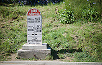 last mountain climb of stage 8: the Col de Peyresourde (Cat1/1569m/7.1km at 7.8%)<br /> <br /> stage 8: Pau - Bagnères-de-Luchon, 184km<br /> 103rd Tour de France 2016