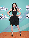 Elizabeth Gillies at The 2011 TeenNick Halo Awards held at The Hollywood Palladium in Hollywood, California on October 26,2011                                                                               © 2011 Hollywood Press Agency