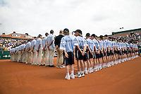 13-7-08, Scheveningen, ITS, Tennis Siemens Open 2008, Ballenkinderen en lijnrechters