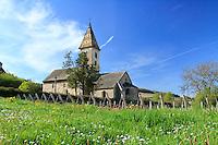 France, Côte-d'Or (21), Fixin, chapelle de Fixey // France, Côte-d'Or, Fixin, chapel of Fixey