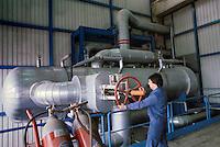 - electrothermal power station ASM (Municipial Services Company) with co-generation for district heating; heat exchanger ....- centrale elettrotermica ASM (Azienda Servizi Municipalizzati) con cogenerazione per il teleriscaldamento; scambiatore di calore
