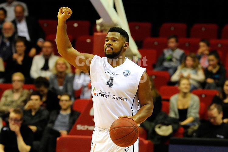 GRONINGEN - Basketbal, Donar - Shoeters Den Bosch, Dutch Basketbal league, Martiiniplaza, seizoen 2014-2015, 24-01-2015,   Donar speler Lance Jeter