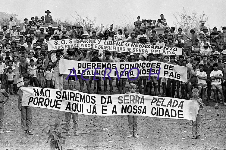 Serra Pelada.<br /> Marabá, Pará, Brasil.<br /> Foto Paulo Jares<br /> 1986