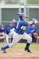 Tony Delmonico - Los Angeles Dodgers - 2010 Instructional League.Photo by:  Bill Mitchell/Four Seam Images..