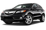 Stock pictures of low aggressive front three quarter view of 2014-2015 Acura RDX Tech  5 Door SUV