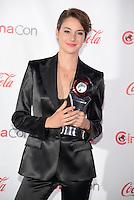 LAS VEGAS, NV - March 27: Female Star of Tomorrow Award winner Shaliene Woodley at the CinemaCon Big Screen Achievement Awards on March 27, 2014 in Las Vegas, Nevada. © Kabik/ Starlitepics