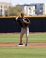 Tucapita Marcano - San Diego Padres 2021 spring training (Bill Mitchell)