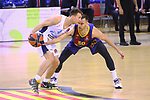 EUROLEAGUE 2020-2021. Playoffs.Game 1.<br /> FC Barcelona vs Zenit St. Petersburg: 74-76.<br /> Kevin Pangos vs Victor Claver.