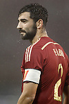 Spain's Raul Albiol during international friendly match.November 18,2014. (ALTERPHOTOS/Acero)