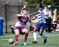The College of Charleston Cougars played the  Georgia Southern Eagles in The Manchester Cup on April 5, 2014.  The Cougars won 2-0.  Daan Brinkman (4), Evan Rees (12)
