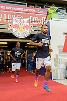 Harrison, NJ - Wednesday Aug. 03, 2016: Hugo Acosta Caceres during a CONCACAF Champions League match between the New York Red Bulls and Antigua at Red Bull Arena.