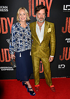 "LOS ANGELES, USA. September 20, 2019: Sharon Stone & Rufus Wainwright at the premiere of ""Judy"" at the Samuel Goldwyn Theatre.<br /> Picture: Paul Smith/Featureflash"