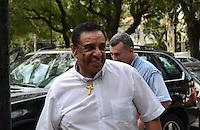 SAO PAULO, 04 DE JUNHO DE 2012 - SERRA PR - O vereador Agnaldo Timoteo em reuniao de apoio politico ao candidato Jose Serra na sede do Partido da Republica. na Avenida Republica do Libano, regiao sul da capital, na tarde desta segunda feira. FOTO: ALEXANDRE MOREIRA - PHOTO PRESS