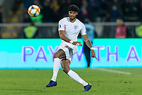 Tyrone Mings of England during the UEFA Euro 2020 Qualifying Group A match between Kosovo and England at Fadil Vokrri Stadium on November 17th 2019 in Pristina, Kosovo. (Photo by Daniel Chesterton/phcimages.com)<br /> Photo PHC Images / Insidefoto <br /> ITALY ONLY