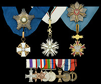 The bravery medals awarded to disgraced media tycoon Robert Maxwell have sold