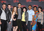 Joseph Siravo, Bryan Fenkart, Teal Weeks, Zak Resnick, Linda Hart, Derrick Baskin, D'adre Aziza and Leslie Kritzer attend the 'Piece of my Heart: The Bert Berns Story'  Meet & Greet at the rehearsal studios at The Pershing Square Signature Center on June 11, 2014 in New York City.