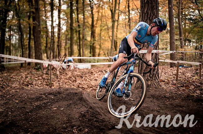 Toon Aerts (BEL/Telenet-Baloise Lions)<br /> <br /> UEC Cyclocross European Championships 2020 - 's-Hertogenbosch (NED)<br /> <br /> Elite MEN<br /> <br /> ©kramon