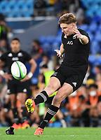 2nd October 2021, Cbus Super Stadium, Gold Coast, Queensland, Australia;   Jordie Barrett. New Zealand All Blacks versus South Africa Springboks.The Rugby Championship. Rugby Union test match.