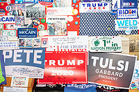 NH State House Visitors Center - Campaign Signs - Trump - Concord, NH - 13 Nov 2019