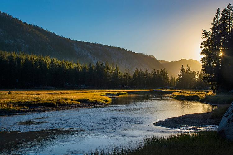 McClure Meadow, Kings Canyon National Park, John Muir Trail