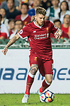 Liverpool FC defender Alberto Moreno in action during the Premier League Asia Trophy match between Liverpool FC and Leicester City FC at Hong Kong Stadium on 22 July 2017, in Hong Kong, China. Photo by Weixiang Lim / Power Sport Images