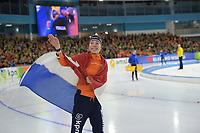 SPEEDSKATING: HEERENVEEN: 11-01-2020, IJsstadion Thialf, European Championship distances, 3000m Ladies, European champion Esmee Visser (NED), ©foto Martin de Jong