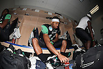 DENTON, TX  JANUARY 1:  Ricky Pratt #41 of the North Texas Mean Green preps before the game against the UNLV Rebels at the Heart of Dallas Bowl at Cotton Bowl Stadium in Dallas on January 1, 2014 in Dallas, TX.  Photo by Rick Yeatts North Texas won 36-14 over UNLV.