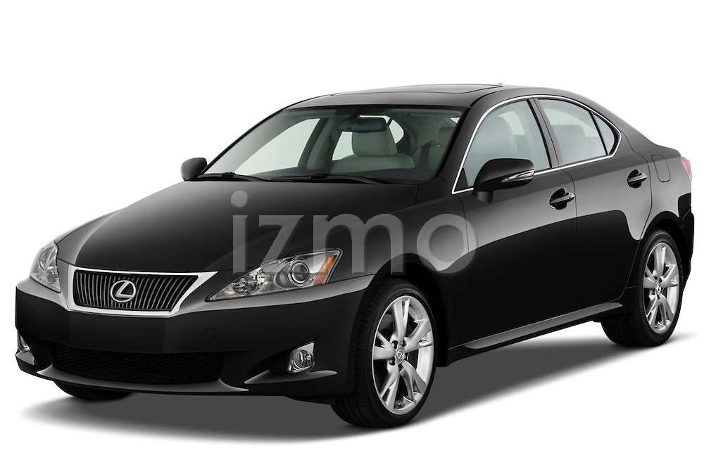 Front three quarter view of a 2009 Lexus IS 350.