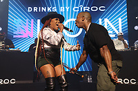 NEW YORK, NY- SEPTEMBER 14: Lil' Mo and Ja Rule pictured at Fat Joe And Ja Rule Verzuz Battle at The Hulu Theater at Madison Square Garden in New York City on September 14, 2021. Credit: Walik Goshorn/MediaPunch