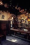 The Village Pub. The George Inn, Norton St Philip, Somerset. England 1990s 1991