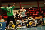 Leonie Moormann Kurpfalz Baeren (Nr.65) gegen Mikkelsen Helena SV Union Halle Neustadt mit Nr.24 // Handball Bundesliga Frauen / Kurpfalz Baeren gegen SV Union Halle-Neustadt / 20.02.2021<br /> <br /> Foto © PIX-Sportfotos *** Foto ist honorarpflichtig! *** Auf Anfrage in hoeherer Qualitaet/Aufloesung. Belegexemplar erbeten. Veroeffentlichung ausschliesslich fuer journalistisch-publizistische Zwecke. For editorial use only.