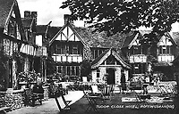 BNPS.co.uk (01202 558833)<br /> Pic: Winkworth/BNPS<br /> <br /> Tudor Close Hotel - Former haunt of stars from the silver screen is up for sale in Sussex.<br /> <br /> A Tudor-style property that was once an exclusive hotel that attracted the great and the good from Hollywood has gone on the market for £650,000.<br /> <br /> The three bed house used to be part of the Tudor Close Hotel in the Sussex village of Rottingdean.<br /> <br /> It's quintessentially English appearance lured the likes of Cary Grant and Bette Davis away from the bright lights of London to stay.<br /> <br /> Although the property looks like it dates back to the time of Henry VIII, it was actually built in 1929.