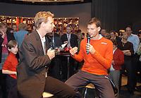 16-02-2005,Rotterdam, ABNAMROWTT , Intervieuw Schalken in ABNAMRO lounge