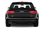 Straight rear view of a 2014 Audi A6 AVUS 5 Door Wagon 2WD