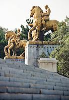 "Memorial Bridge Statues Washington DC.""The Arts of War"""