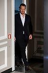 "American actor Chris Pratt attends to the presentation of the american film ""Passengers"" at Hotel Villa Magna in Madrid, Spain. November 30, 2016. (ALTERPHOTOS/BorjaB.Hojas)"
