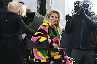 Heidi Klum on the shooting of the new season of Germanys Next Topmodel in front of the Hotel Adlon in Berlin / 19 Nov 2020. Credit: Action Press/MediaPunch **FOR USA ONLY**