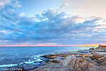 Dawn at Halibut Point State Park in Rockport, Massachusetts, USA