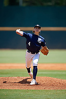 Ben Kudrna (4) of Blue Valley Southwest High School in Overland Park, KS during the Perfect Game National Showcase at Hoover Metropolitan Stadium on June 19, 2020 in Hoover, Alabama. (Mike Janes/Four Seam Images)
